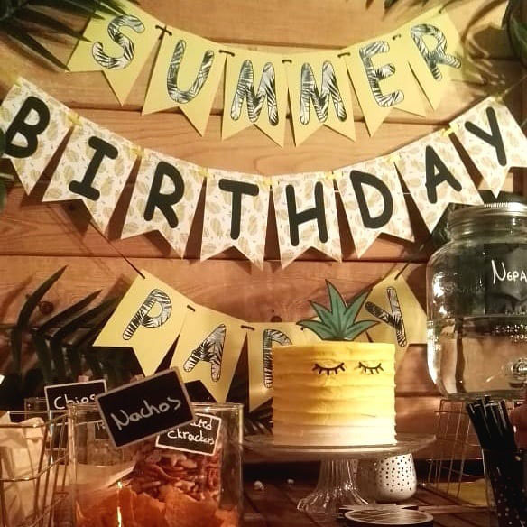 Tropical Birthday Party